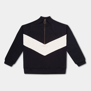 Track Sweater - Thunder Black