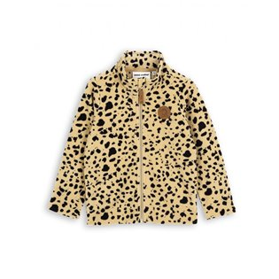 Spot Fleece Jacket - Beige