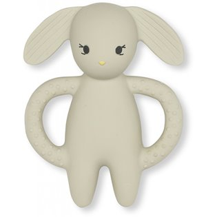 Teeth Soother Rabbit - Clay