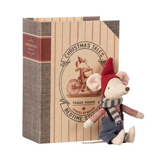 Christmas Mouse in Book - Big Brother