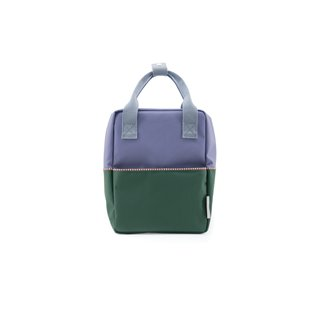 Small Backpack Colourblock - Moustafa Purple
