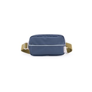 Fanny Pack - Teal / Gold Green