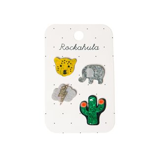 Wild Animals Badge Set