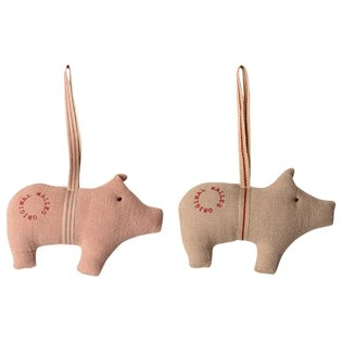 Pig Ornament - 2 Ass