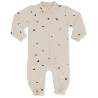 Onesie With Collar - Cherry / Blush