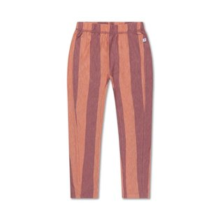 A Tricot Pants Peachy Block Stripe