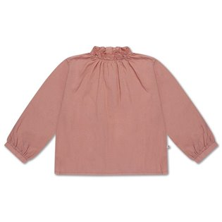 Ruffle Blouse Powder Peachy