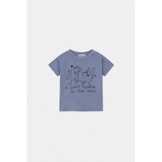 Dancing Birds Baby T-Shirt