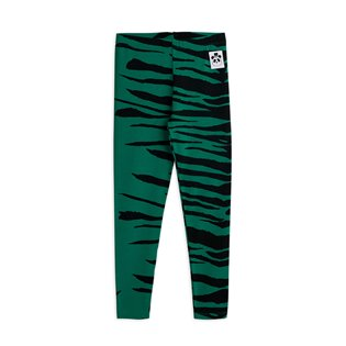 Tiger Leggings - Green
