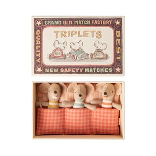 Matchbox Mice - Baby Triplets