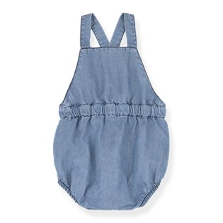 Mao Romper - Denim