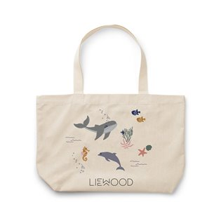 Tote Bag Big - Sea Creature Mix