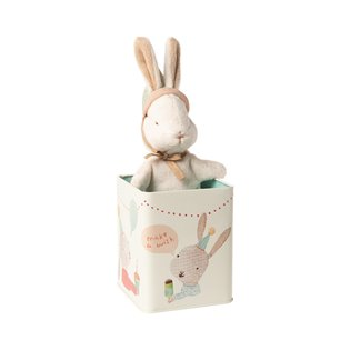 Happy Day Bunny In Box, Small