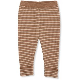 Meo Knit Pants Cotton - Sahara Rice