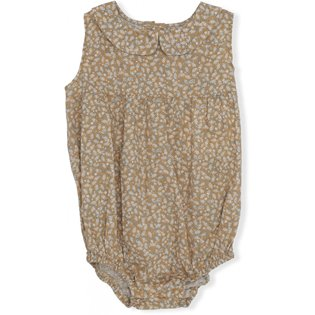 Mini Romper - Melodie - Dark Honey