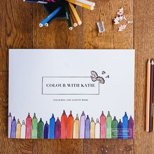 Colour With Katie - Children's Activity And Colouring Book