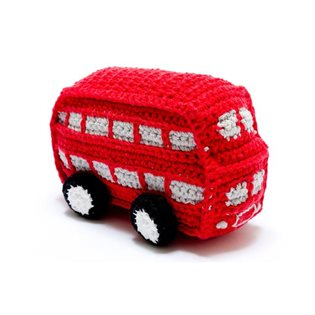 Crochet Red Bus