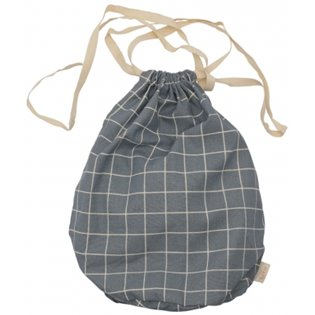 Haps Nordic Multi Bag Large - Ocean Check