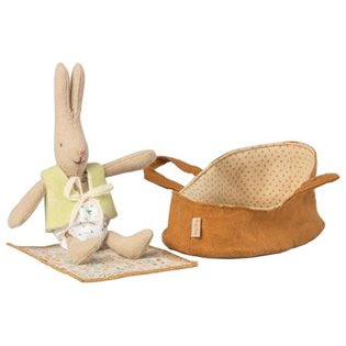 Micro Rabbit In Carry Cot