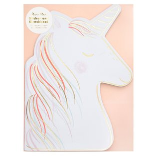 Unicorn Stickers & Sketch Book