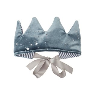 Mystical Velvet Crown - Grey