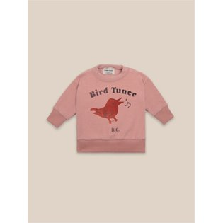 Bird Tuner Terry Towel Baby Sweatshirt