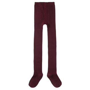 Rib Tights - Plum