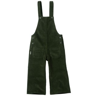 Corduroy Dungarees - Forest Night