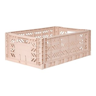 Aykasa Maxi Folding Crate - Milk Tea