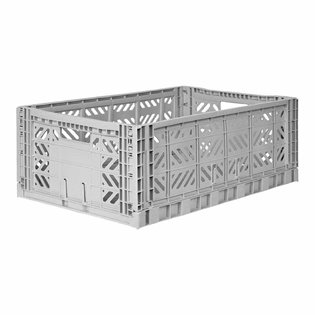 Aykasa Maxi Folding Crate - Grey