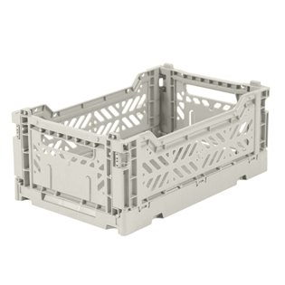 Aykasa Mini Folding Crate - Light Grey