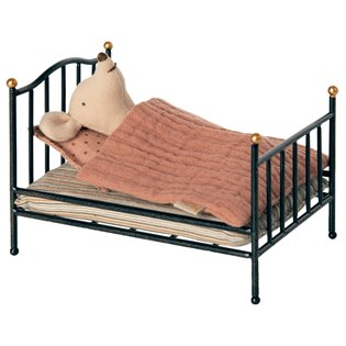 Vintage Bed - Mouse - Anthracite