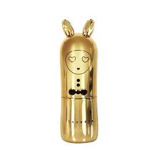 Bunny Lip Balm - Deluxe Metal Edition Light Gold
