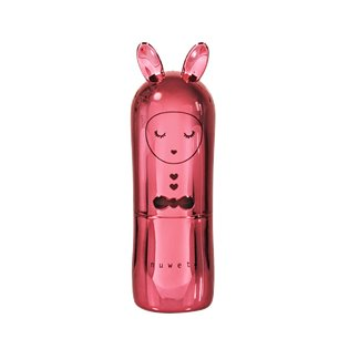 Bunny Lip Balm - Deluxe Metal Edition Light Red