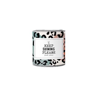 Small Candle Tin - Keep Shinning Please - Jasmin Vanilla