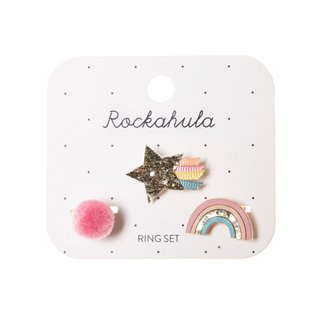 Wish Upon A Star Ring Set