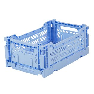 Aykasa Mini Folding Crate - Baby Blue