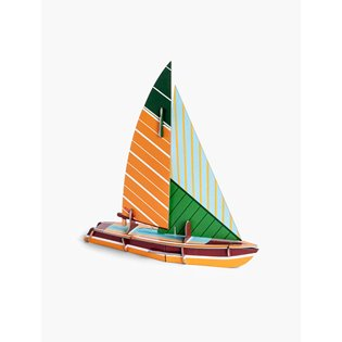 Classic Sailboat Model