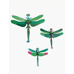 Dragonflies Model - Set of 3