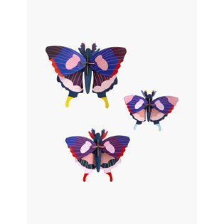 Swallowtail Butterflies - Set of 3