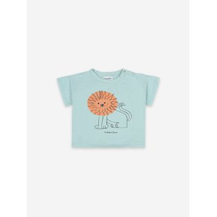 Pet a Lion Short Sleeve Baby T-shirt