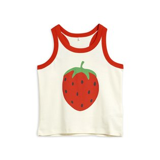 Strawberry SP Tank Top - Off-white