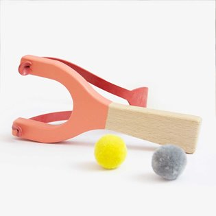 Beech Wood Catapult - Coral