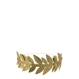 Gold Leaf Party Crowns