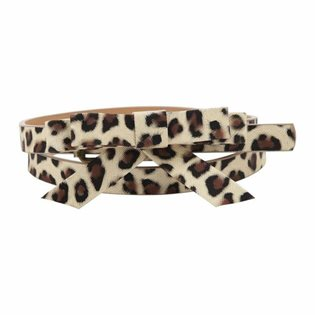 Molo Girls Ni Ni Belt - Leopard Print